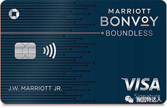 《万豪100K点数奖励又来啦 - Chase Marriott Bonvoy Boundless信用卡》